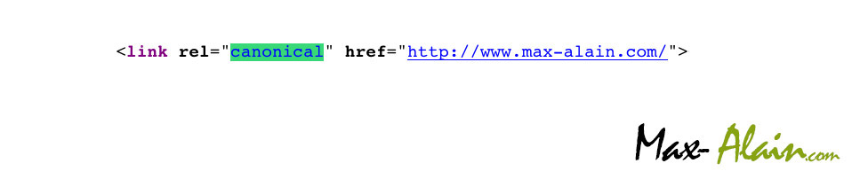 code html link canonical