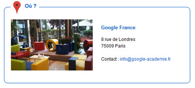 google 8 rue de londres paris